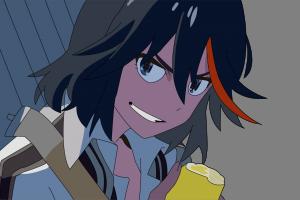 kill la kill anime matoi ryuuko