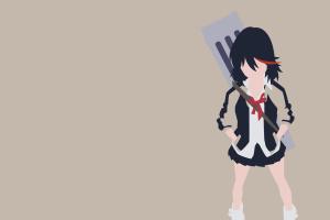 kill la kill matoi ryuuko anime vectors
