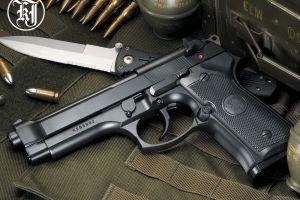 knife beretta weapon gun grenades ammunition