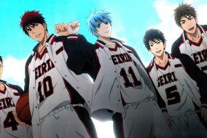 kuroko no basket anime basketball blue anime boys