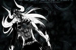 kurosaki ichigo monochrome hollow anime bleach