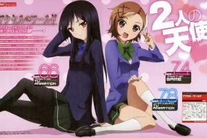 kuroyukihime skirt text school uniform brunette dark hair anime girls chiyuri kurashima accel world