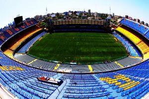 la bombonera cityscape stadium