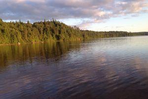 lake landscape canada