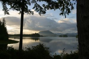 lake nature landscape canada