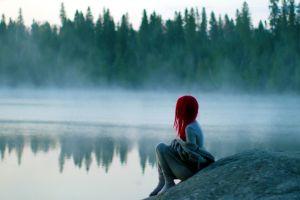 lake women redhead