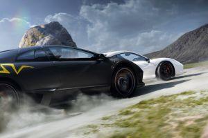 lamborghini murcielago lp 670-4 super veloce white cars vehicle car black cars