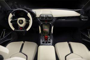lamborghini urus lamborghini car interior car concept cars