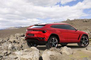 lamborghini urus red cars concept cars