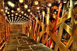 lamp arabic cafes