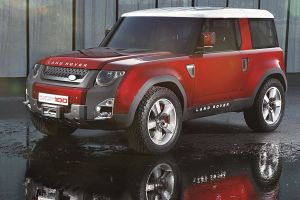 land rover dc100 concept cars red cars