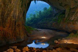 landscape cave nature venezuela