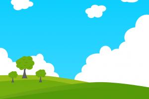 landscape minimalism material style sky