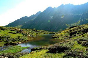 landscape nature austria mountains river
