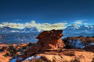 landscape nature utah mountains