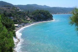 landscape sea greece
