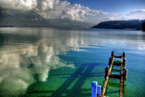 landscape sea lake