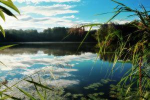 landscape sky nature water