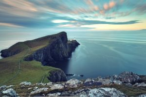 landscape sky scotland neist point