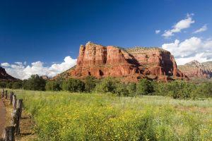 landscape usa nature rock arizona