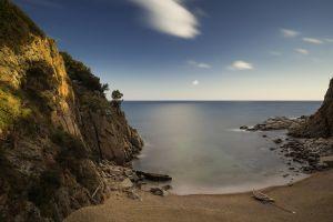 landscape water sea beach horizon sky