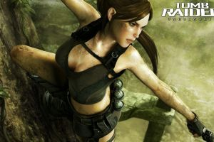 lara croft video game art video game heroes video games tomb raider tomb raider: underworld