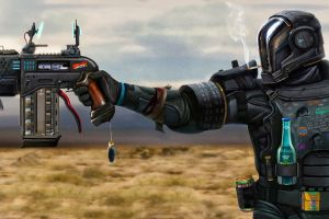 last man standing: killbook of a bounty hunter futuristic science fiction