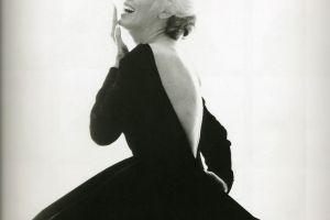 laughing actress women monochrome marilyn monroe