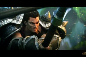 league of legends darius video games