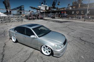 lexus silver cars stance car