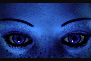 liara t'soni video games mass effect blue skin