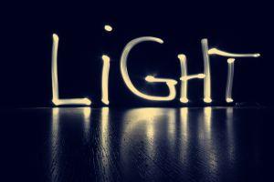 light graffiti typography digital art lights