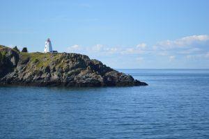 lighthouse coast water canada