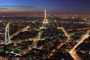 lights night paris