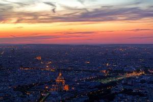 lights paris cityscape