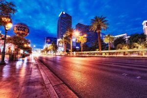 lights road cityscape city building