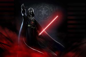 lightsaber star wars star wars villains sith artwork darth vader