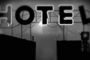 limbo video games signs monochrome hotel