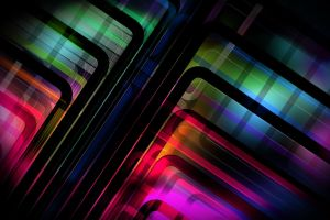 lines abstract colorful digital art