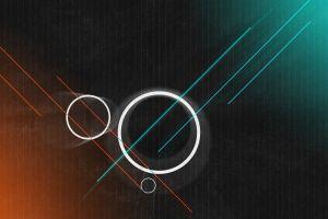 lines digital art abstract artwork shapes