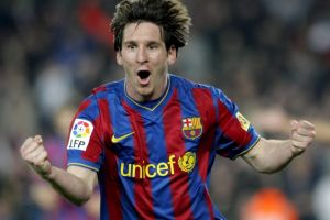 lionel messi open mouth fc barcelona