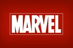 logo marvel comics red