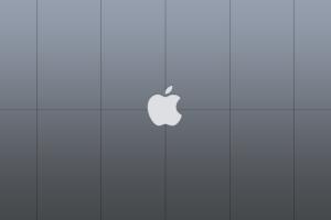 logo minimalism apple inc. simple background