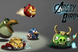 loki captain america the avengers iron man angry birds thor hulk