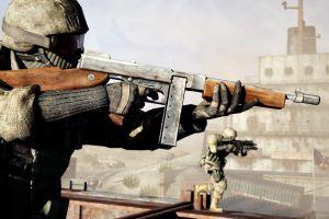 machine gun battlefield bad company 2 video games submachine gun