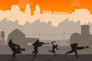 machine gun minimalism team fortress 2 video games heavy (charater) gun pyro (character) sniper rifle valve corporation scout (character) sniper (tf2) flamethrower simple valve