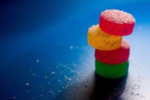 macro food sugar  sweets