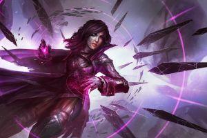 magic women daniel kamarudin fantasy art fantasy girl