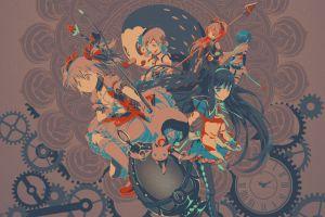 mahou shoujo madoka magica kaname madoka akemi homura anime anime girls akemi homura