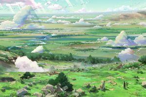 makoto shinkai  anime children who chase lost voices